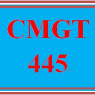 CMGT 445 CMGT445