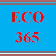 ECO 365 ECO365