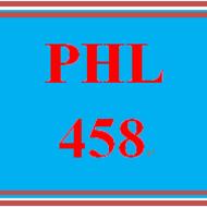 PHL 458 PHL458