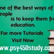 PSY 450  Slingshot Academy / psy450study.com