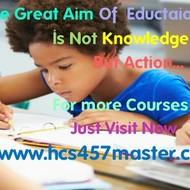 HCS 457 Course Experience Tradition / hcs457master.com