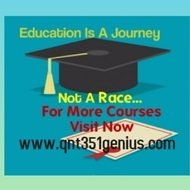 QNT 351  help Become Exceptional  / qnt351genius.com