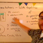 Calculating Permutation with Repetition