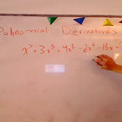 Taking the Derivative of a Polynomial