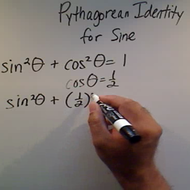 Solving a Pythagorean Identity for Sine