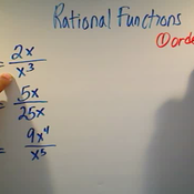 Limits at Infinity in Rational Functions