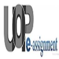 UOP E Assignments - Study Material Through @uopeassignments.com