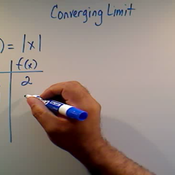 Recognizing a Converging Limit