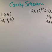 Applying the Cauchy-Schwarz Inequality