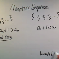 Monotonic Sequences