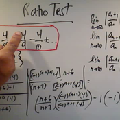 Using the Ratio Test
