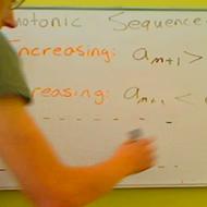 Monotonic Sequences