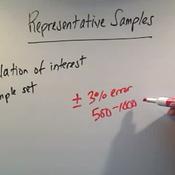 Identifying Representative Samples