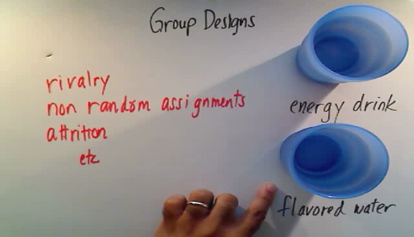 Evaluating Between Group Designs