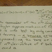Error Bounds of Taylor Series