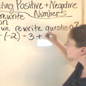 Subtracting Positive and Negative Numbers