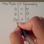 The Rule of Symmetry