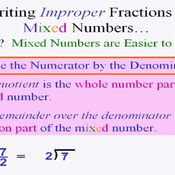 Converting Improper Fractions