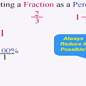 Converting Fractions to Percentages