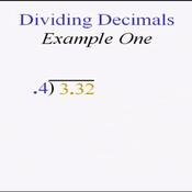 Dividing Tenths by Tenths