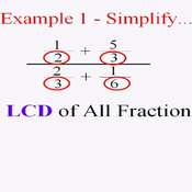 Complex Fractions