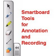 Smartboard tools to record and annotate