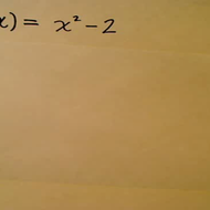Evaluation of a Function