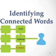 Identifying Connected Words