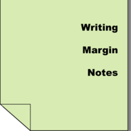 Writing Margin Notes