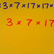 Converting Factorization to Exponential Notation