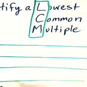 Finding the Lowest Common Multiple