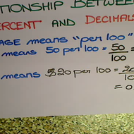 Percentages and Decimals