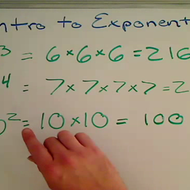 Introduction to Exponents