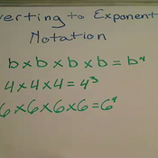 Converting to Exponential Notation