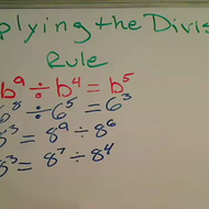 Applying the Division Rule