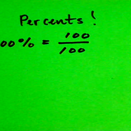 Introduction to Percentages