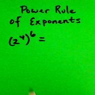 Applying the Power Rule