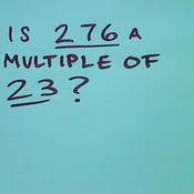 Identifying Multiples
