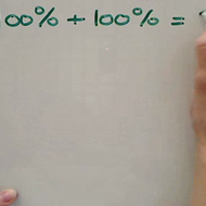 Adding Percentages