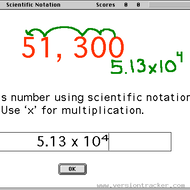 Lesson on Scientific Notation and 4-9