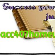 ACC 407 HOMEWORK Enthusiastic Study / acc407homework.com