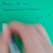 Finding the Range of an Exponential Equation