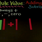 Adding and Subtracting Absolute Value