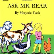 "Guided Reading Lesson- ""Ask Mr. Bear"""