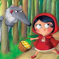 Cuento de Caperucita Roja y el Lobo Feroz