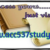 ACC 537 STUDY Possible Is Everything / acc537study.com