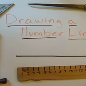 Drawing a Number Line