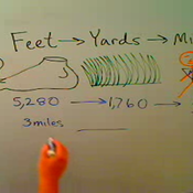 Converting Between Feet and Yards and Miles