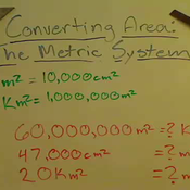 Converting Square Units in the Metric System