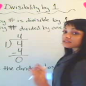 One and Divisibility